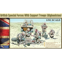 35GM0023 1/35 British Special Forces with Support Troops (Afghanistan) 1\35