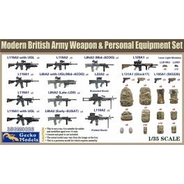 35GM0026 1/35 British Army Weapon & Personal Equipment Set 1\35