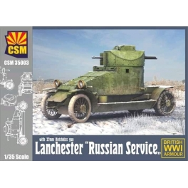 "CSM35003 1/35 Lanchester ""Russian Service"" with 37mm Hotchkiss gun"