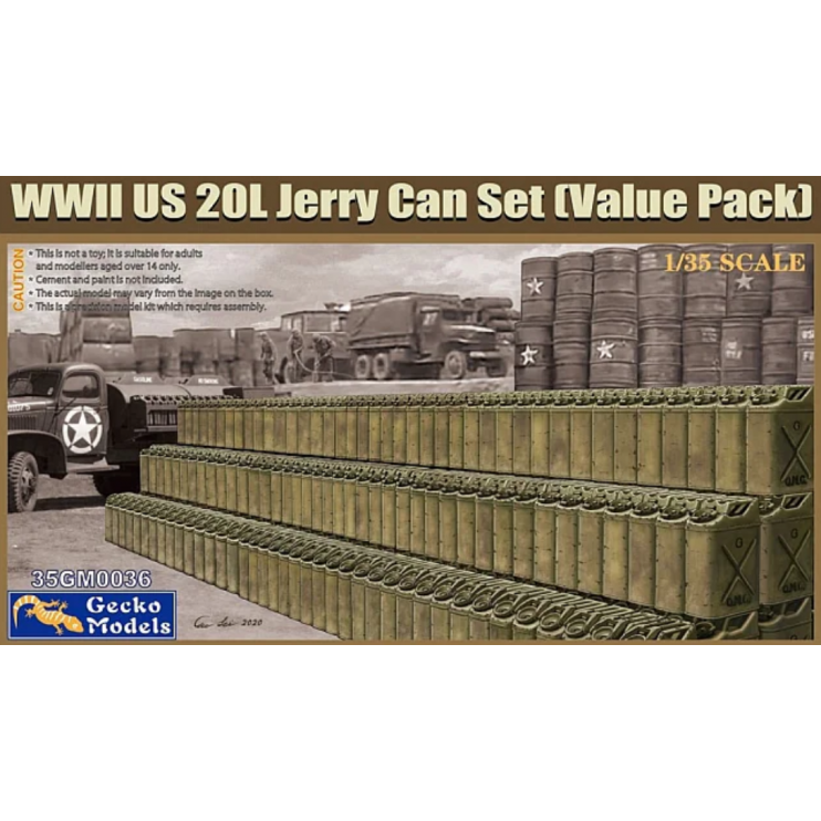 35GM0036 WWII US 20L Jerry Can Set Value Pack 1\35