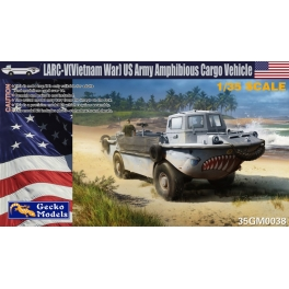 35GM0038 LARC-V (Vietnam War) US Army Amphibious Cargo Vehicle 1\35