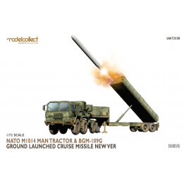 UA72328 Nato M1014 MAN Tractor & BGM-109G Ground Launched Cruise Missile new Ver