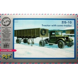 72063 1/72 ZiS-10 Tractor with semi-trailer
