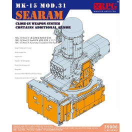 35006 NEW 1/35 US Navy SEARAM close-in weapon system w/Additional armor