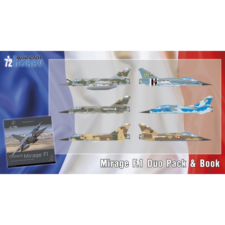 SH72414 Mirage F.1 Duo Pack