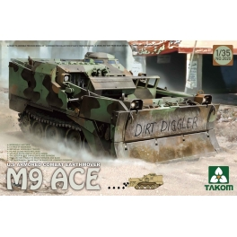 2020 1/35 U.S Armored Combat Earthmover M9 ACE