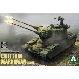 2039 1/35 British Air-defense Weapon System Chieftain Marksman SPAAG