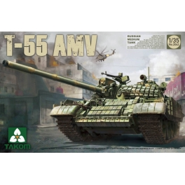 2042 1/35 Rssian Medium Tank T-55 AMV