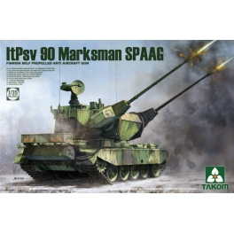 2043 1/35 	Finnish Self Propelled Anti Aircraft Gun ltPsv 90 Marksman SPAAG