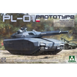 2127 1/35 PL-01 Prototype Polish Light Tank