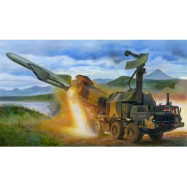 01035 1/35 Russian 4K51 Rubezh Costal ASM with P-15
