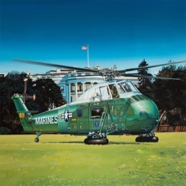 """02885 VH-34D """"Marine One"""" - Re-Edition 1\48"""