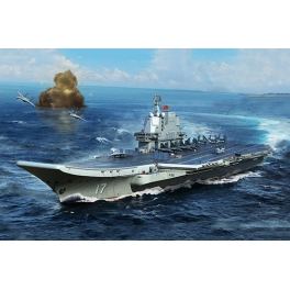 06725 1/700 PLA Navy type 002 Aircraft Carrier