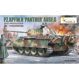VS720003 PZ.KPFW.V'PANTHER'AUSF.G LATE PRODUCTION 1/72