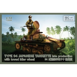 72044 Japanese Tankette-late prod with idler wheel